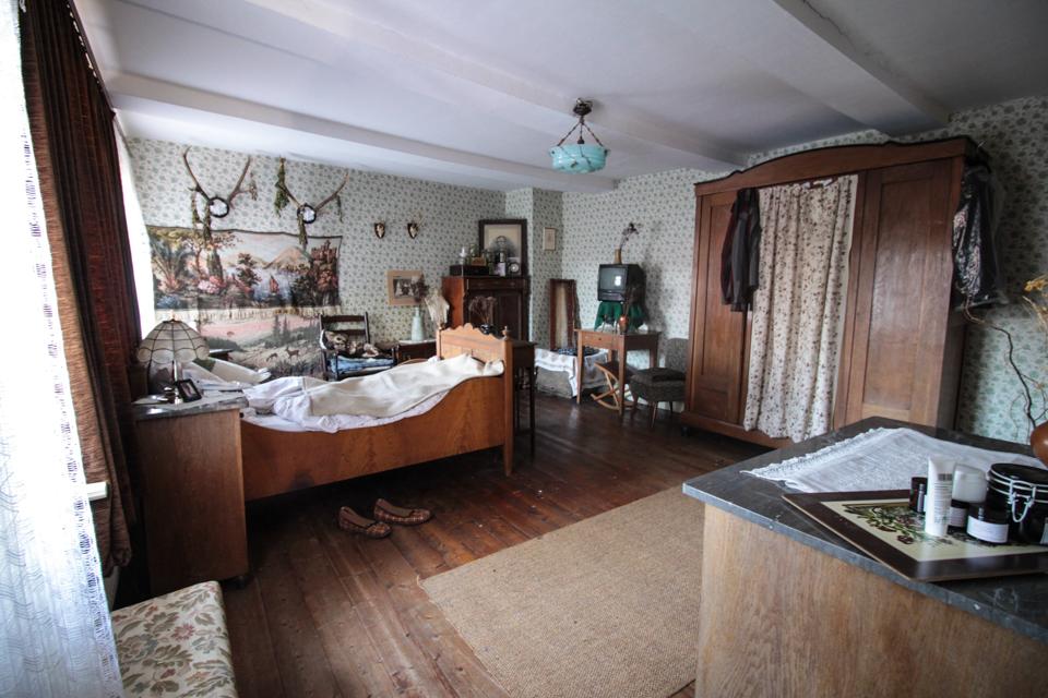 Zimmer mit Hirschgeweihen