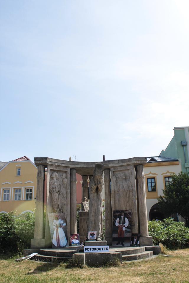 Der Burghof in Prerov